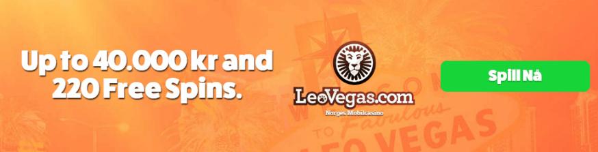 LeoVegas - Beste Casino Norge